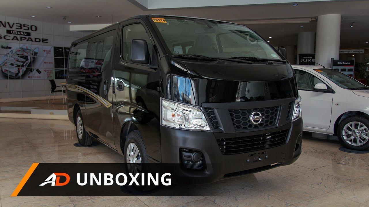Nissan Nv350 Urvan Escapade Super Elite Autodeal Unboxing Youtube