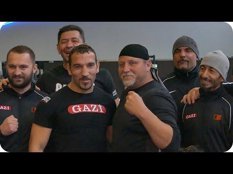 Charity Fights 2015 - Pressetraining | Luan Krasniqi | Firat Arslan | Uwe Hück | Botha | Ludwigsburg