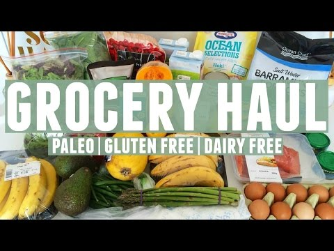 Grocery Haul | What I Eat In A Week | Paleo, Gluten Free + D