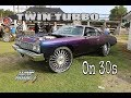 Whipaddict: Twin Turbo Lsx 73' Impala Sports Coupe On Dub 30s Hits The Track