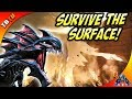 HOW TO SURVIVE THE SURFACE AND GET EPIC LOOT! ALPHA SURFACE KING ATTACKS! Ark Aberration DLC