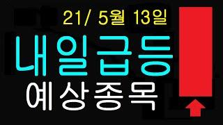 210513 내일급등 예상종목 화타TV 주식.