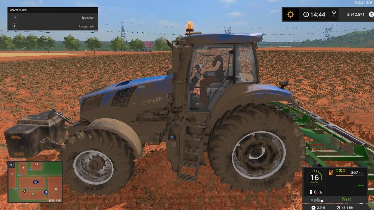 Farming Simulator 17more realistic mod tanıtım...