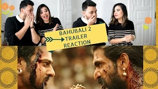 BAHUBALI 2 THE CONCLUSION Reaction - Guess Who Is With Me?