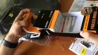 Мишка A4 Tech N-60 F-2 Carbon (Розпаковка) Rozetka