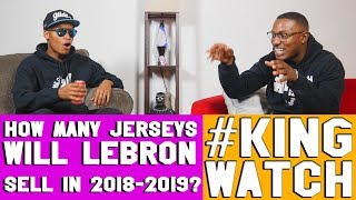 How Many Jerseys Will LeBron James Sell in 2019 ? | Hoops N Brews