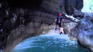 Canyon del Raganello - 9 giugno 2013 - Civita - Ponte del Diavolo