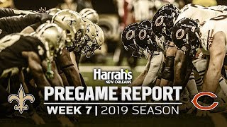 Pregame Analysis: Saints vs. Bears Week 7 Preview | New Orleans Saints Pregame Report | 2019 NFL