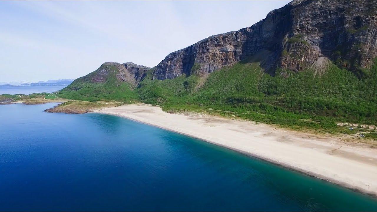 Langsand strand i Gildeskål