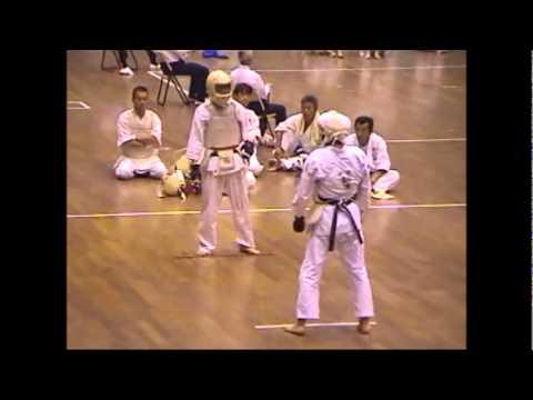 キックボクシング vs 伝統派空手 Traditional karate vs Kickboxing 防具付空手