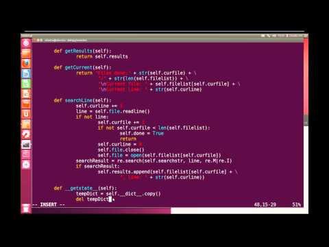 Python Advanced Tutorial 11.5 - File Searcher