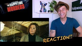 The Happytime Murders : TRAILER REACTION! (Red Band)