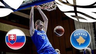 LIVE 🔴 - Slovakia v Kosovo - Class. Game 17-18 - FIBA U20 European Championship Division B 2018