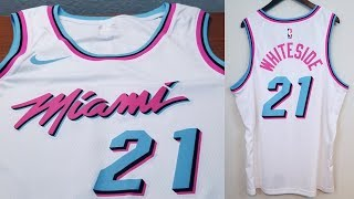 """Miami Vice"" Nike Swingman Jersey City Edition Review"