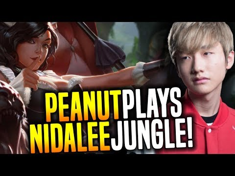 Peanut Destroying With Nidalee Jungle!