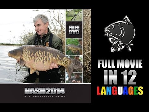 NASH 2014 Carp Fishing DVD FULL MOVIE in 12 languages Kevin Nash Alan Blair