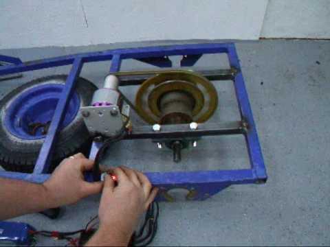 Tot Rod motor test