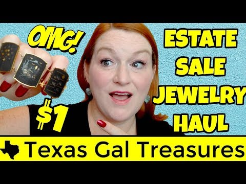 Estate Sale Jewelry Haul - Week In Review - Dealing with Burnout and Lack of Motivation