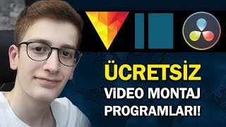 EN İYİ 3 ÜCRETSİZ VİDEO MONTAJ PROGRAMI! - VİDEO EDİT PROGRAMLARI