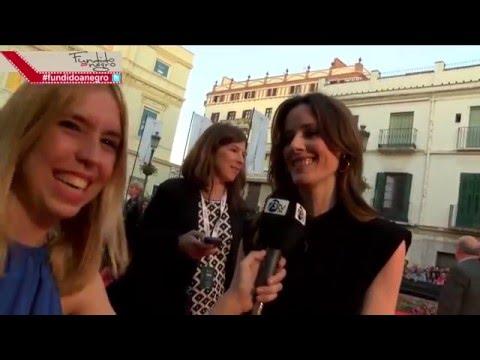 La actriz Pilar López de Ayala de la película 'Rumbos' en la Alfombra Roja 19 Festival Málaga