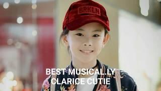 Kumpulan Musical.ly Keren Clarice Cutie @claricecutie   Top Muser Indonesia  