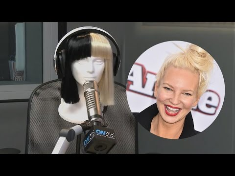 Sia Finally Reveals Her Identity During Wacky Interview With Ryan Seacrest!