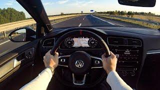 2019 Volkswagen Golf GTI TCR (290hp) POV Test Drive   CarzCrew