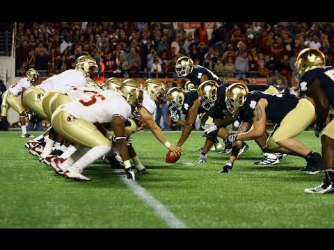 Notre Dame Vs Florida State Pump Up Video Youtube