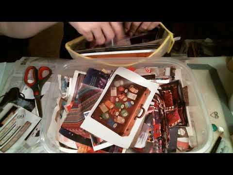 Storage Solution, Glue Books, and Napkin Tags