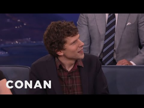 The Adventures Of Jesse Eisenberg & A Naked Michael Shannon Dummy  - CONAN on TBS