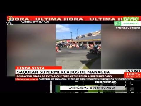 EN VIVO - Continúan protestas en Nicaragua
