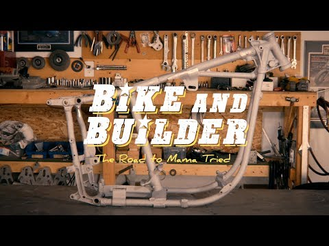 Bike & Builder (Custom Motorcycle Series Trailer 1)