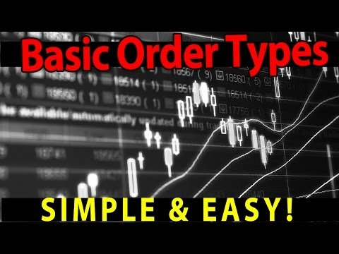 STOCK TRADING 101: Understanding the basic order types for trading stocks