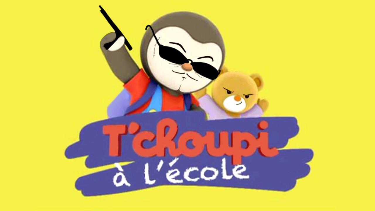 Tchoupi l 39 cole rap cover youtube - Tchoupi l anniversaire de doudou ...