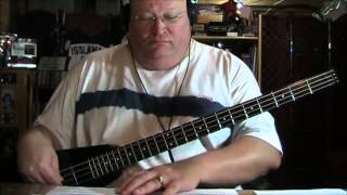 Elton John Funeral for a Friend Love Lies Bleeding Live Bass Cover with Bass Notes