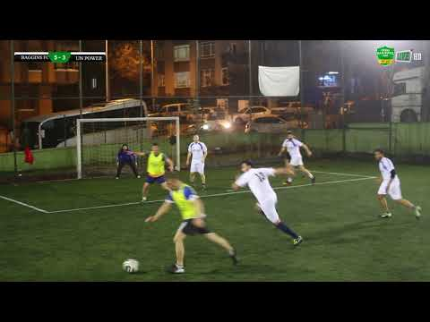 Baggins FC  5:3  UN POWER/MAÇ ÖZETİ/ ANKARA / iddaa Rakipbul Ligi 2018