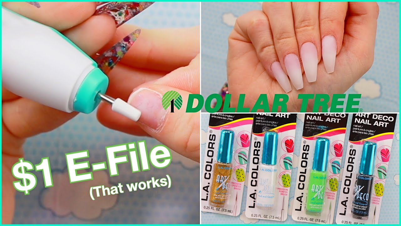 Nails Using Only Dollar tree Products