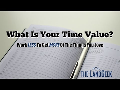 What Is Your Time Value? Work Less To Get More Of The Things You Love