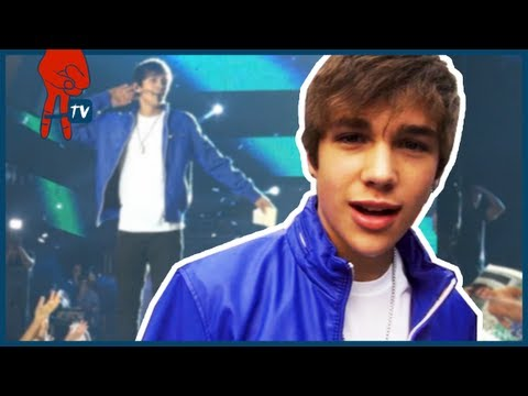 Austin Mahone Performs at Aztec Stadium in Mexico Austin Mahone Takeover Ep 57