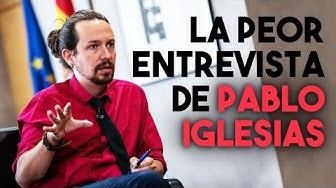 Imagen del video: HUMOR: La entrevista más surrealista de Pablo Iglesias