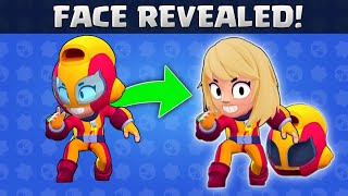 Brawlers Behind The Mask 🎭 All Secret Brawlers Face Revealed !