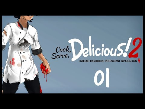 Cook, Serve, Delicious 2 Gameplay Let's Play Part 1 (EAT CHILLY WIENERS)