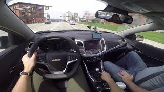 Driving a Chevy SS in Pittsburgh