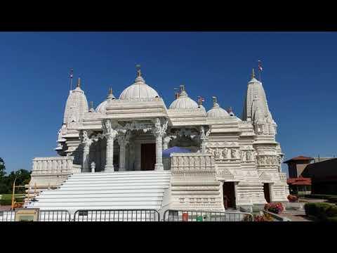 Travel Vlog l BAPS Shri Swaminarayan Mandir Chicago