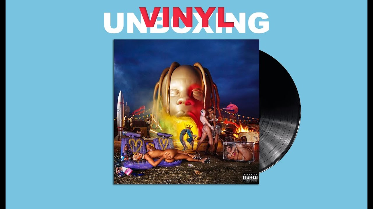 Astroworld Limited Edition Travis Scott Vinyl Unboxing Youtube