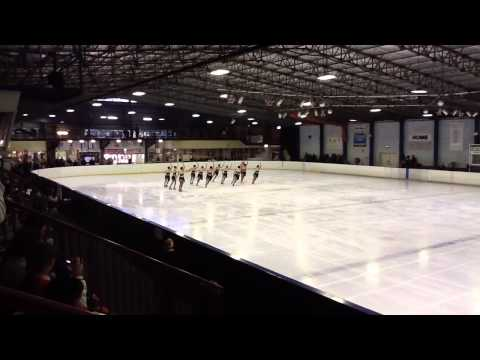 Revolution Synchronised Ice Skating NSW State Champs 2012 - Adult