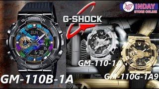 G SHOCK GM-110-1A, GM-110G-1A9…