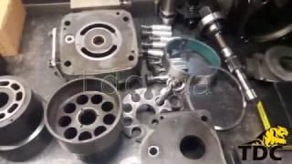 Ремонт гидравлических насосов погрузчика VOLVO L150F