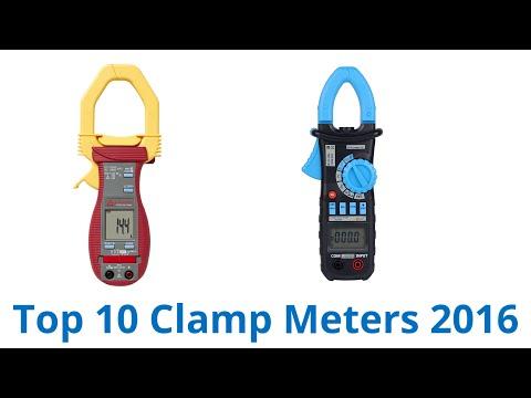 10 Best Clamp Meters 2016