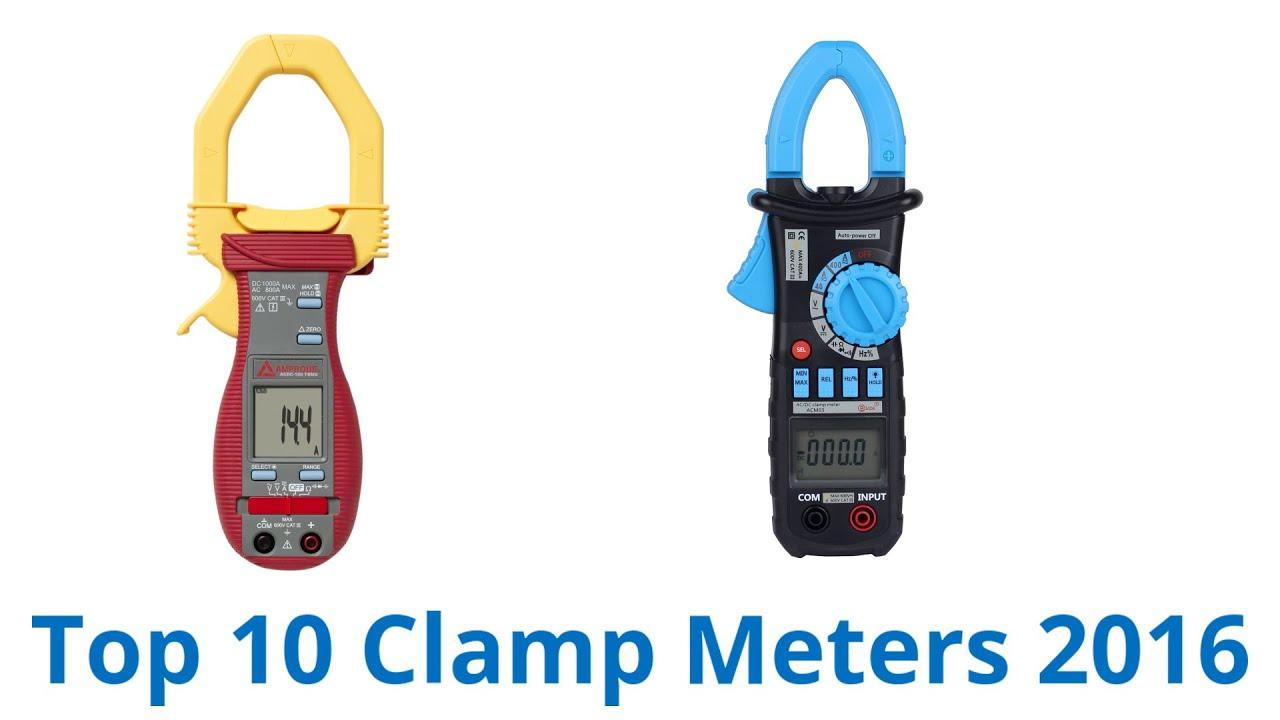10 Best Clamp Meters 2016 - YouTube